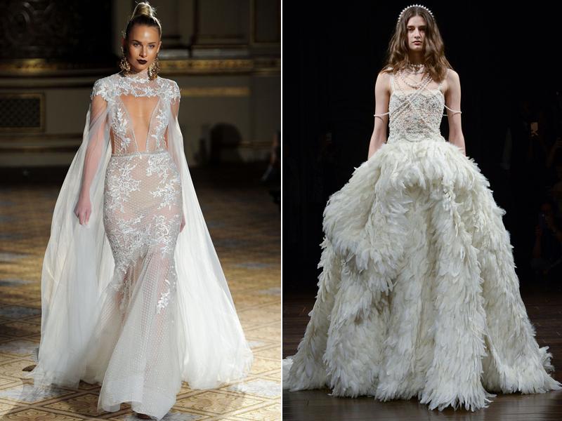 4 tendências de vestidos de noiva que você precisa conhecer