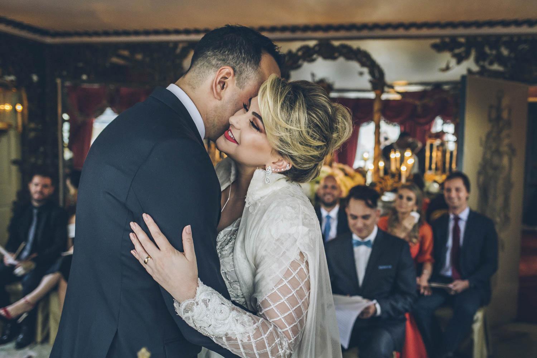 O casamento da blogueira Alice Salazar em Londres