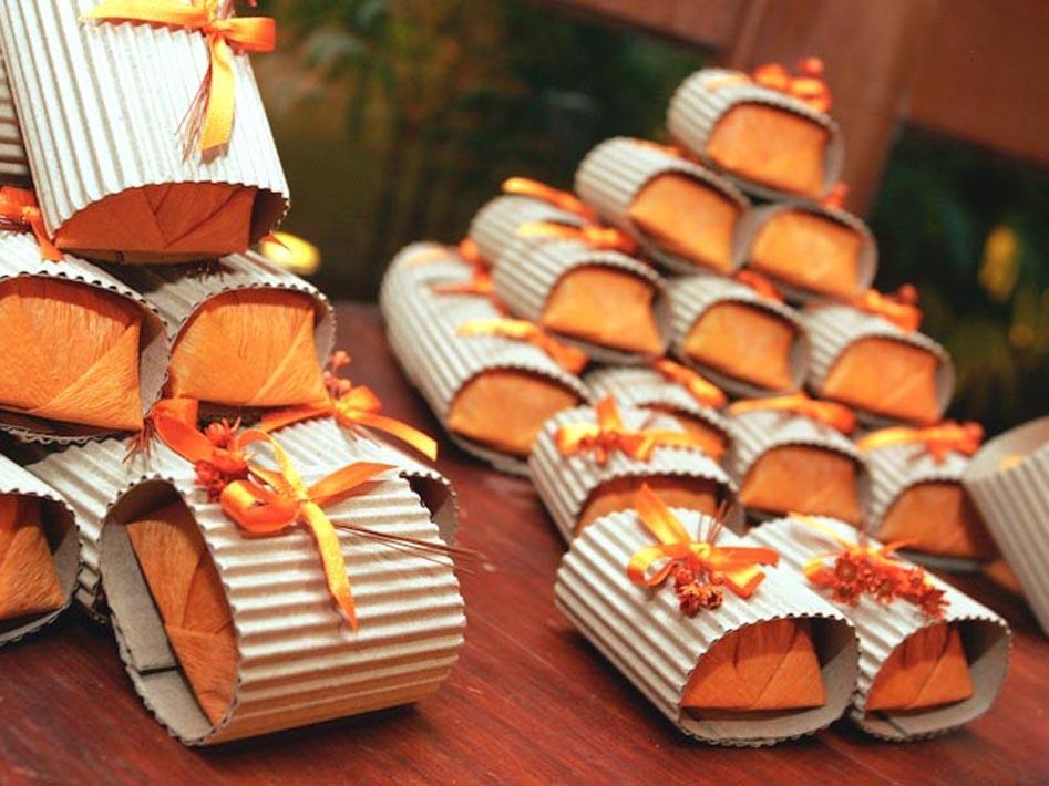 Idéias de embalagens para bem casados