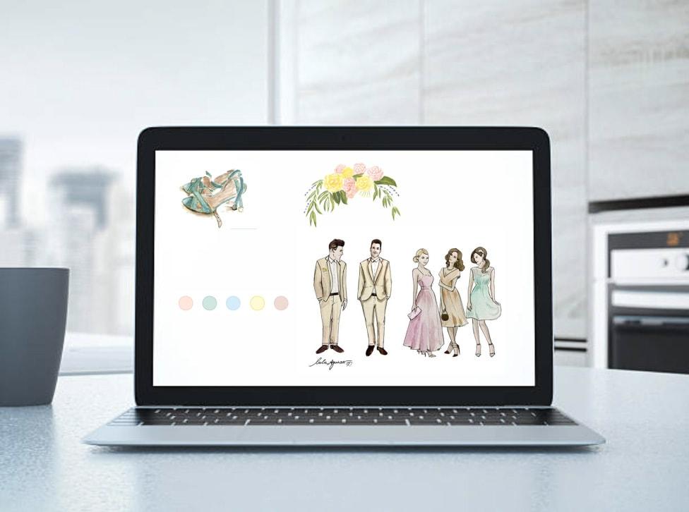 Tendências para o seu site de casamento