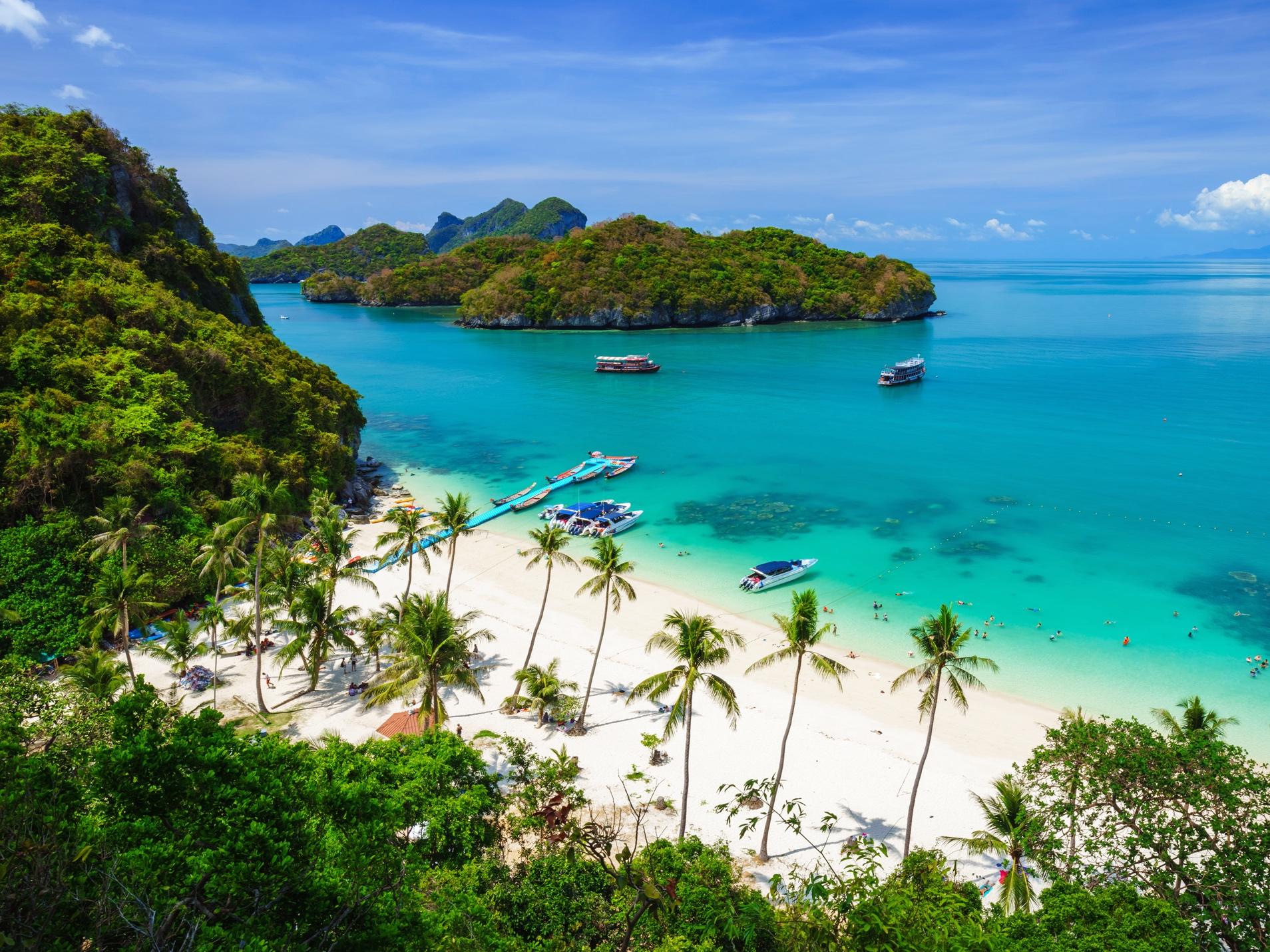 Lua de mel com gastronomia exótica na Tailândia – Praias