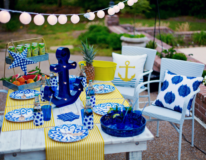 Pizzazzerie.com-Backyard-Nautical-Dinner-Party-7