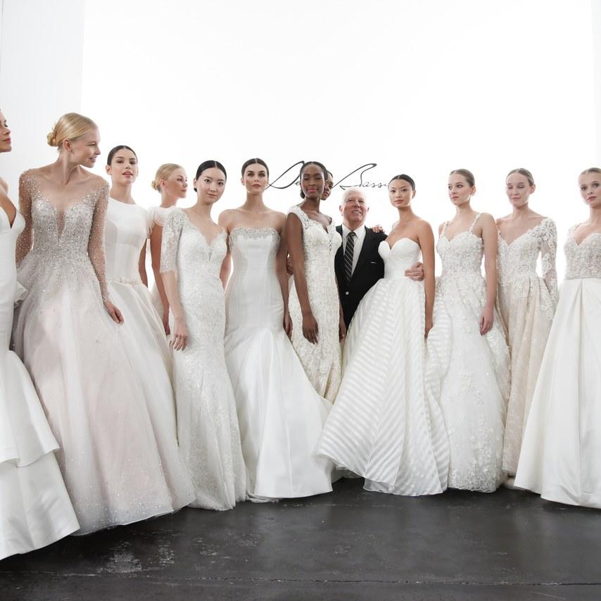 NY Bridal Fashion Week: O desfile de Dennis Basso para a Kleinfeld