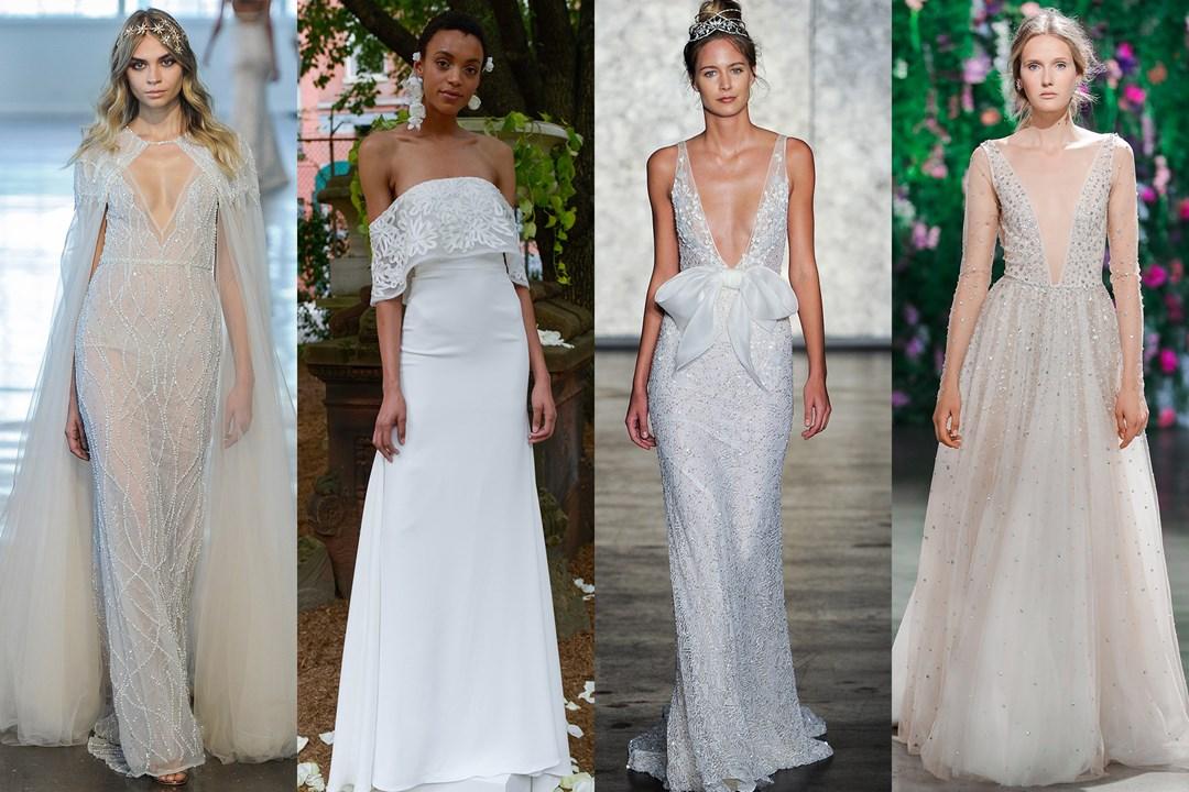 Vestido de noiva: tendências para 2018 direto da NY Bridal Week