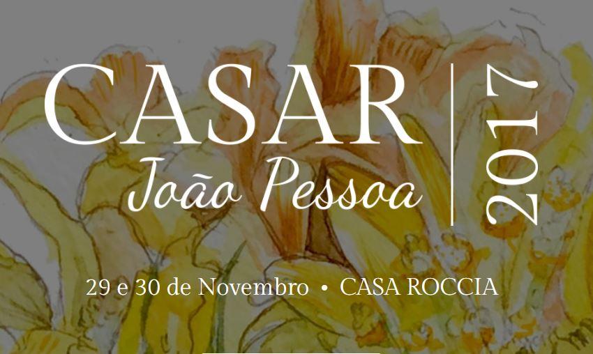 CASAR João Pessoa 2017: Confira a programação do evento