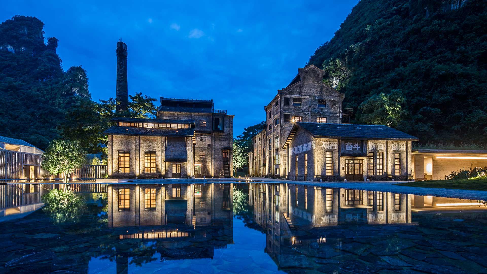 China: Hotel Yangshuo Alila por Paola e Joaquim Matias