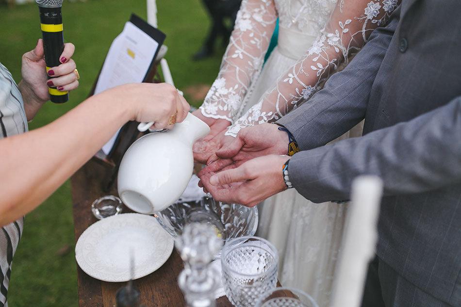 Casamento Celta, encantador e moderno