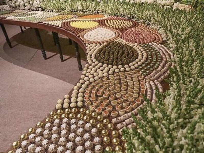 Trend alert: mesas de doces geométricas