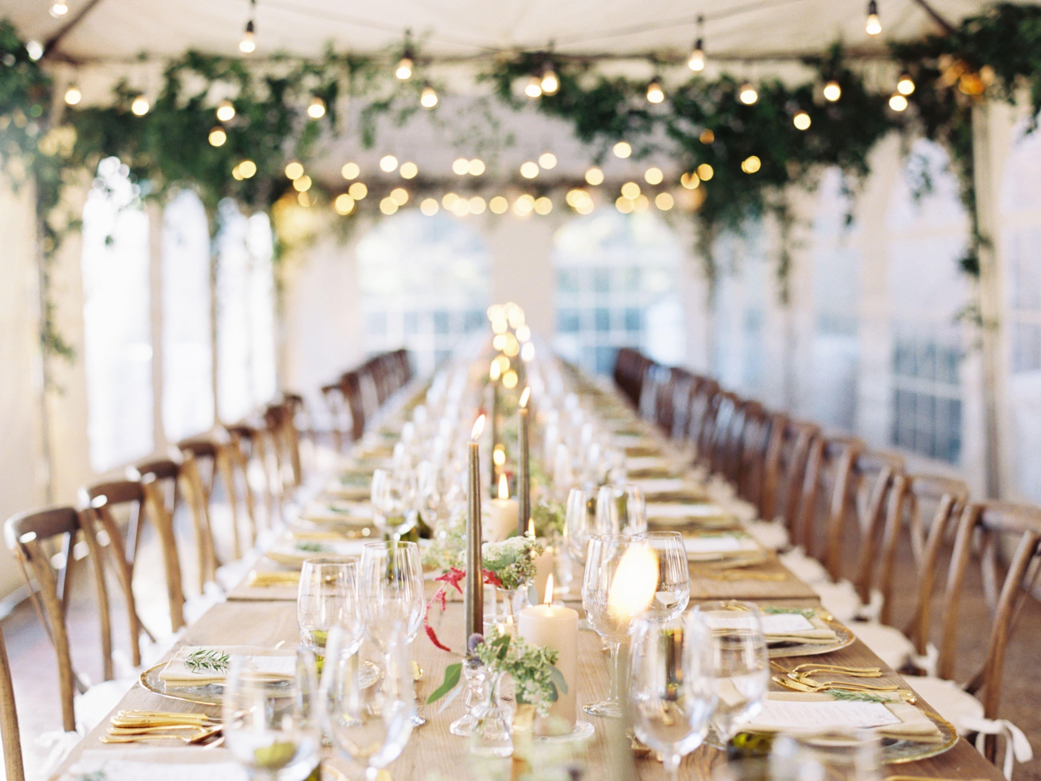 Casamento com Jantar Family Style