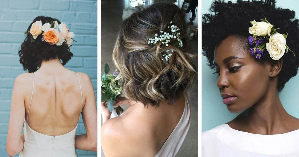 Penteados para casamento: curto, longo, para madrinhas e convidadas!