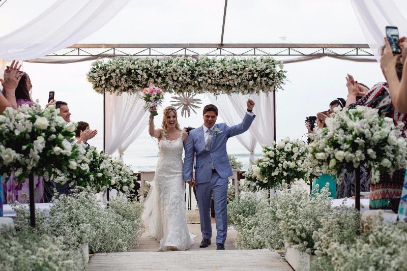 Casamento ao vivo: Natália e Rafael