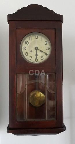 7a52762416e Relógio Alemão De Parede De Pêndulo E Cordas Antigo - Catálogo das ...