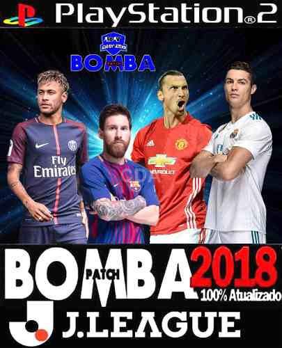Jogo Ps2, Bomba Patch J league 2017/2018 ( Outubro) - Catálogo das