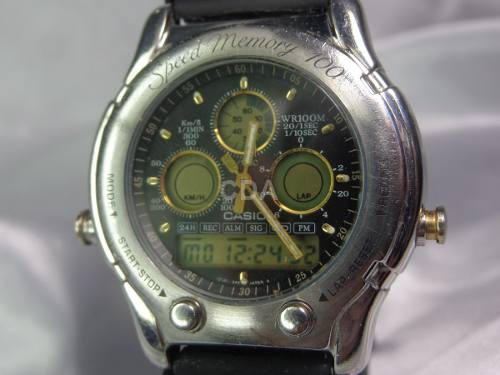 f671ace570f Relógio Casio Oceanus Speed Memory 503 1985 Relogiodovovô ...