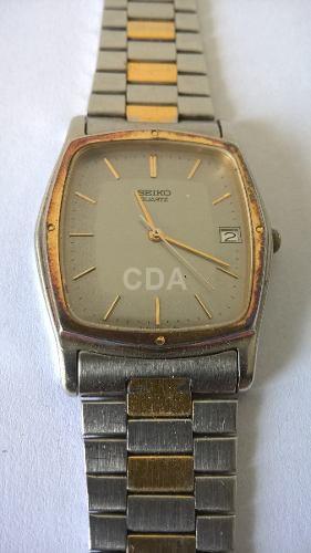 84216f87300 Relógio Seiko Quartz Todo Original Masculino Anos 80 - Catálogo das ...