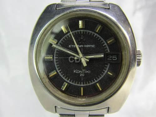 c70a4a986d4 Relógio Eterna-matic Kontiki 20 Calibre 12825 Relogiodovovô ...
