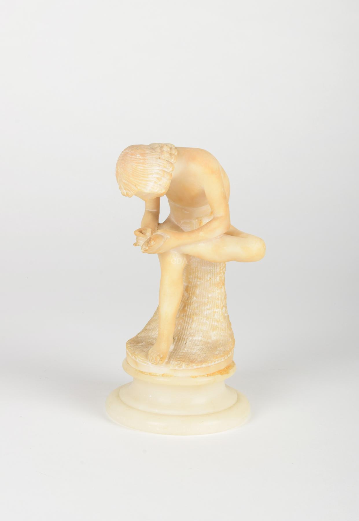 Spinario (menino removendo um espinho do pé)