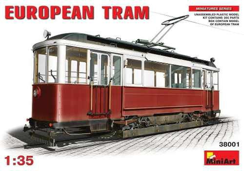 Miniart - European Tram 1/35