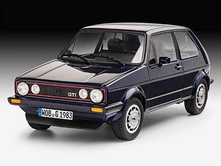 Kit Para Montar Revell 35 Years Vw Golf 1 Gti Pirelli - 1/24