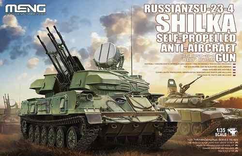 Meng Kit 1/35 Russian Zsu-23-4 Shilka Ts-023