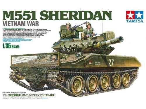Tamiya - Us Airborne Tank M551 Sheridan 1/35