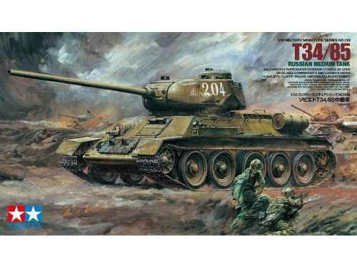 Tamiya - Russian T34/85 Medium Tank 1/35