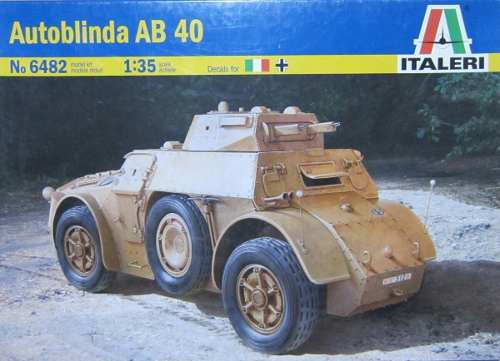 Autoblinda Ab 40 Italeri 6482 135
