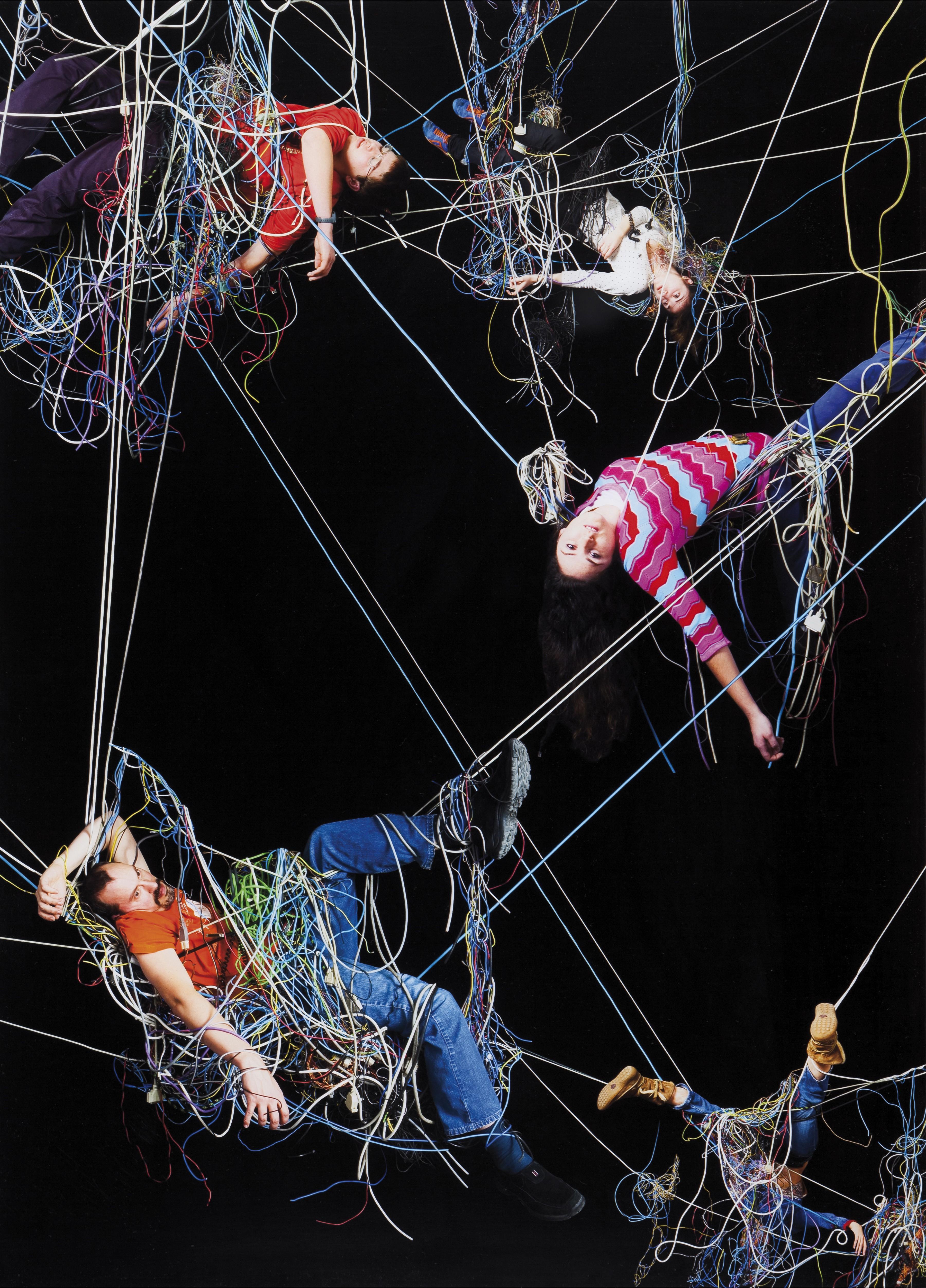 """""""Enredos 9"""", 2008 - Daniel Canogar (n. 1964)"""