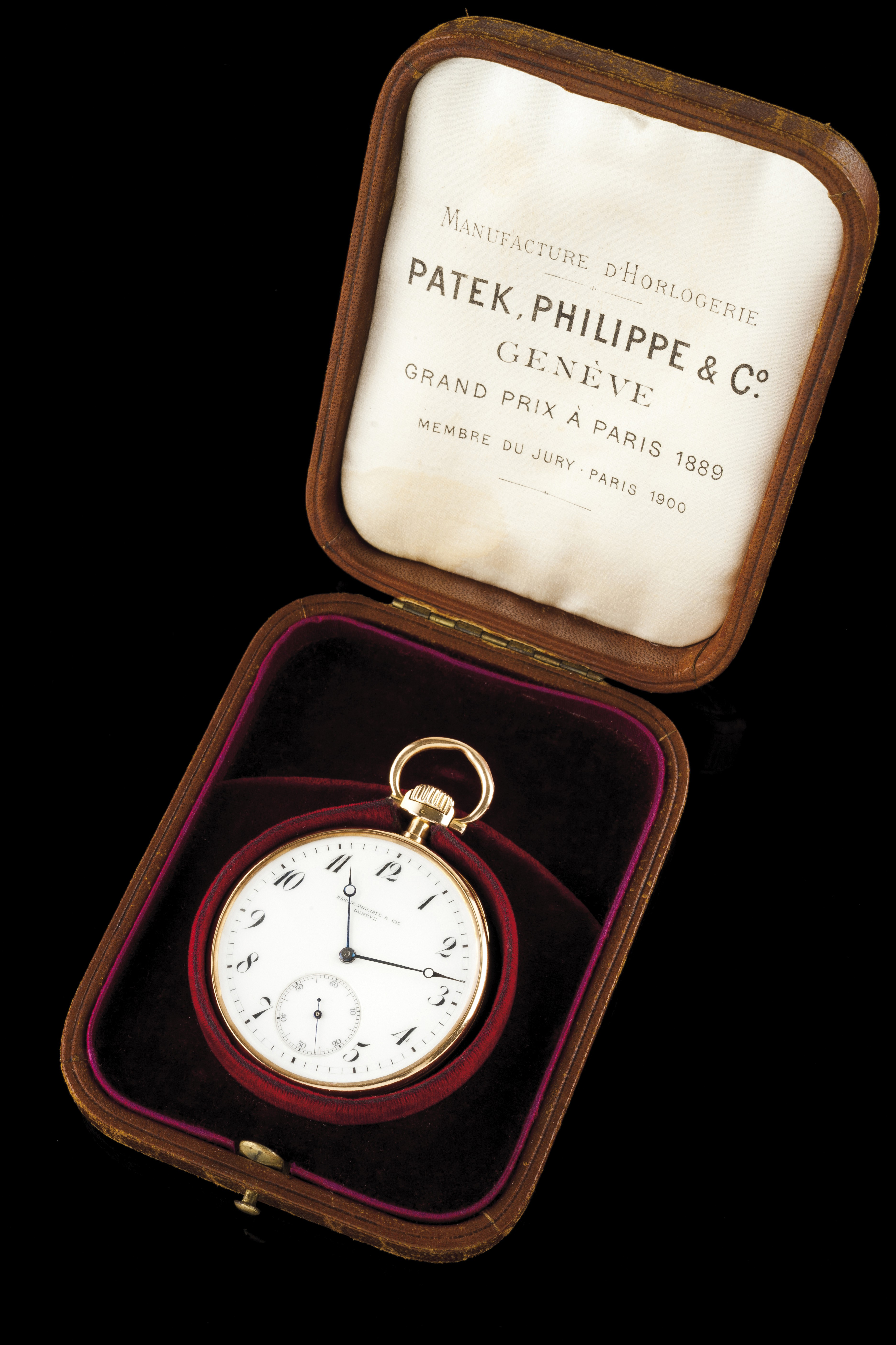 Relógio de bolso Patek Philippe
