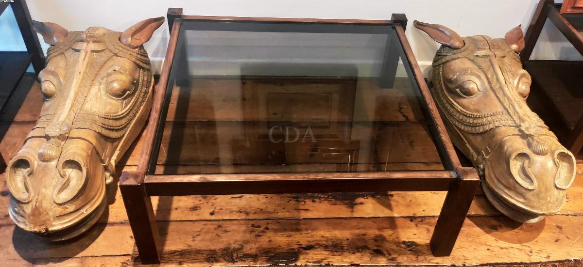 Mesa de centro de madeira de jacarandá - Sergio Rodrigues (1927)