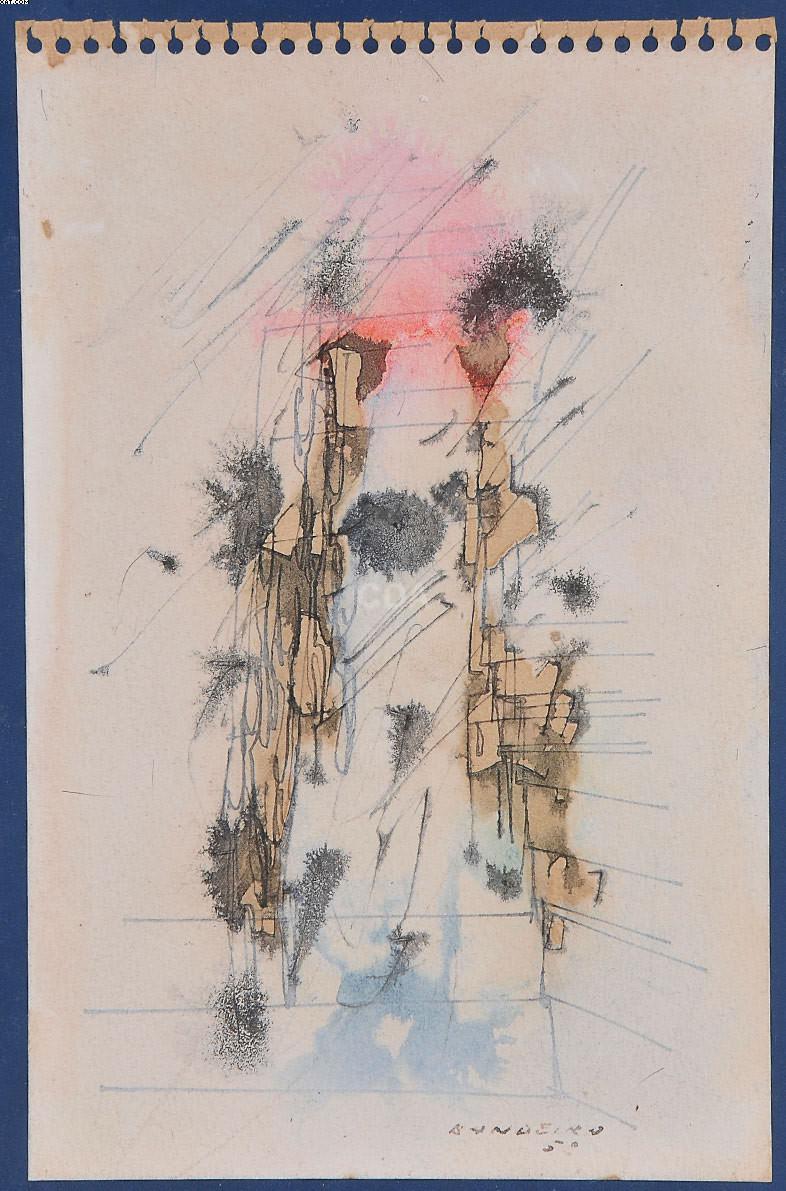 Abstrato - Antônio Bandeira (1922-1967)