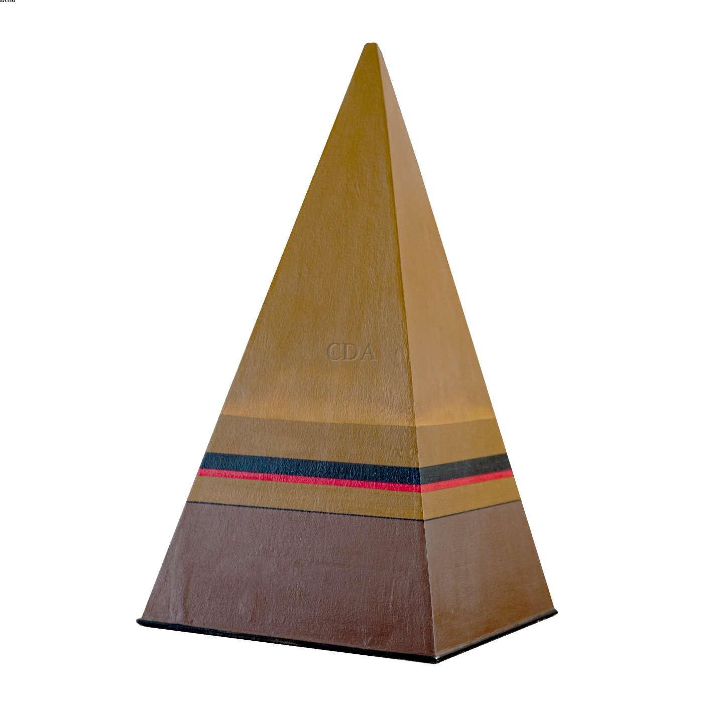 Pirâmide  - Abraham Palatnik - Abraão Palatnik - Abraao Palatnik