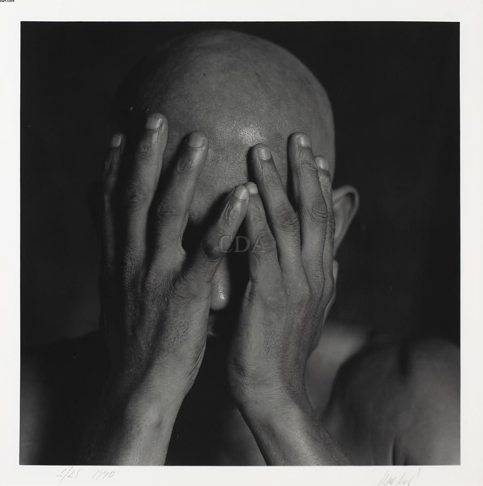 Hands Before Face - Mario Cravo Neto