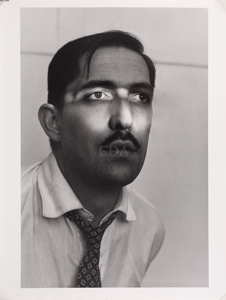 Auto-retrato - Geraldo de Barros