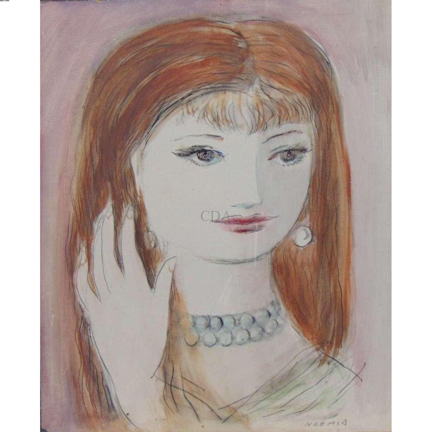 Figura feminina - Noemia Mourao - Noêmia Mourao - Noemia Mourão