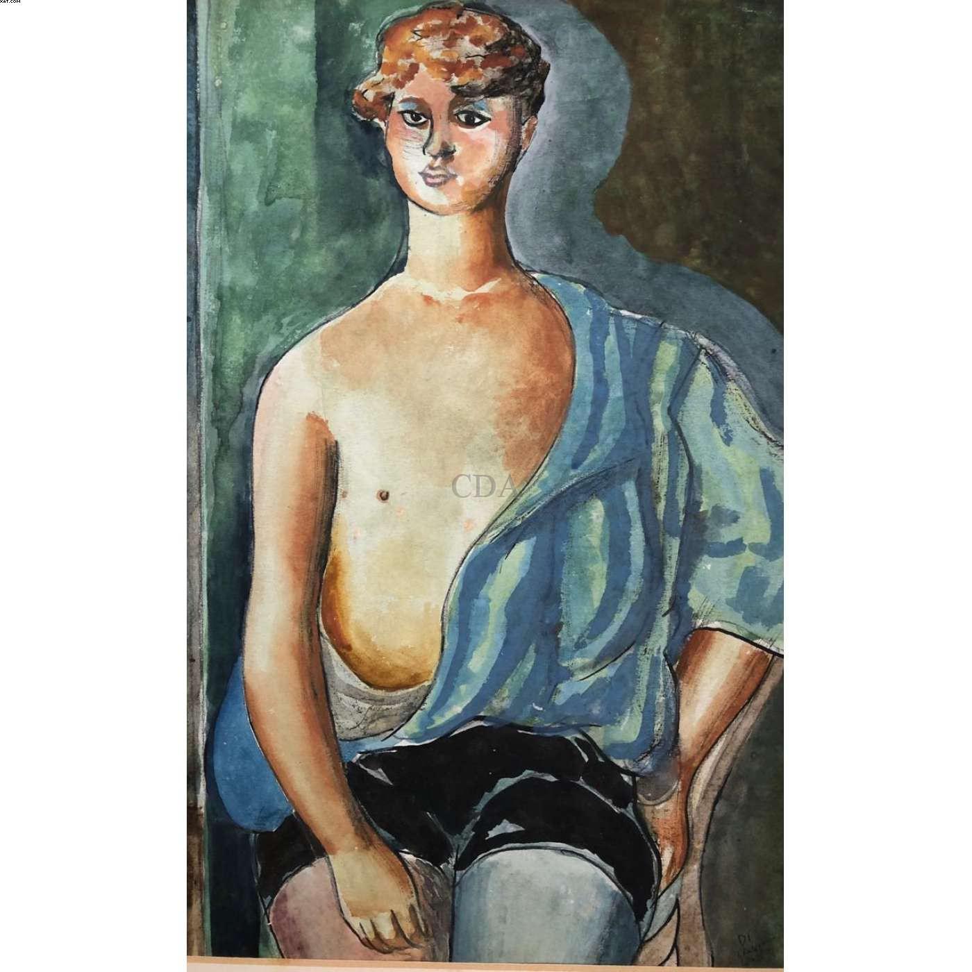 Jovem - Di Cavalcanti (1897-1976)
