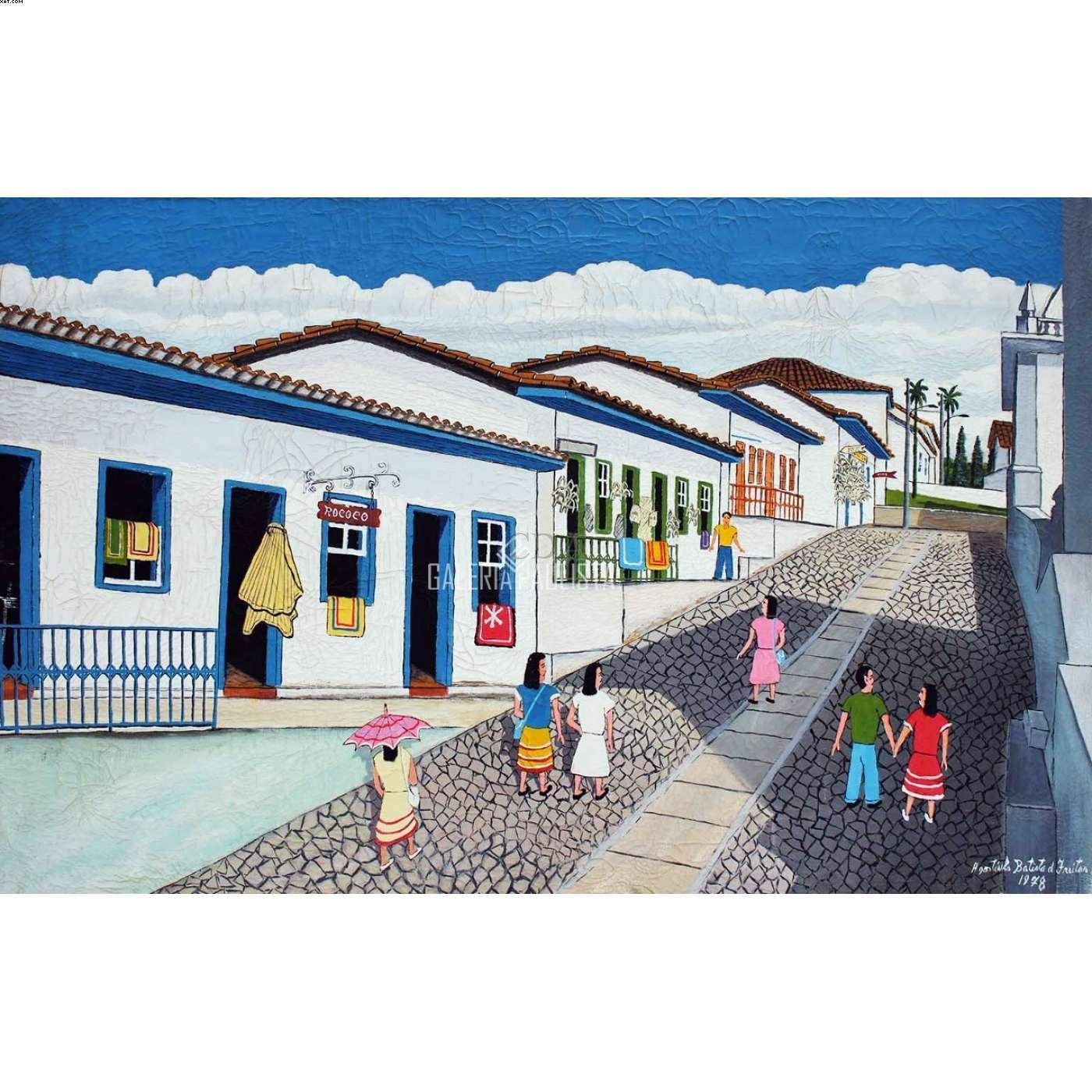 Ladeira de Ouro Preto - Agostinho Batista de Freitas (1927-1997)