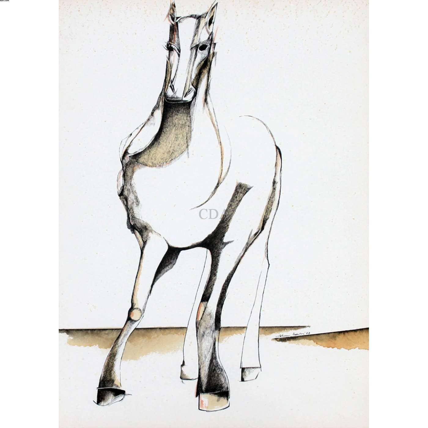 Cavalo de Raça - Aldemir Martins