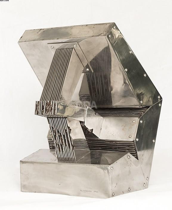 Escultura nº 5 - Nicolas Vlavianos  - Wlavianos