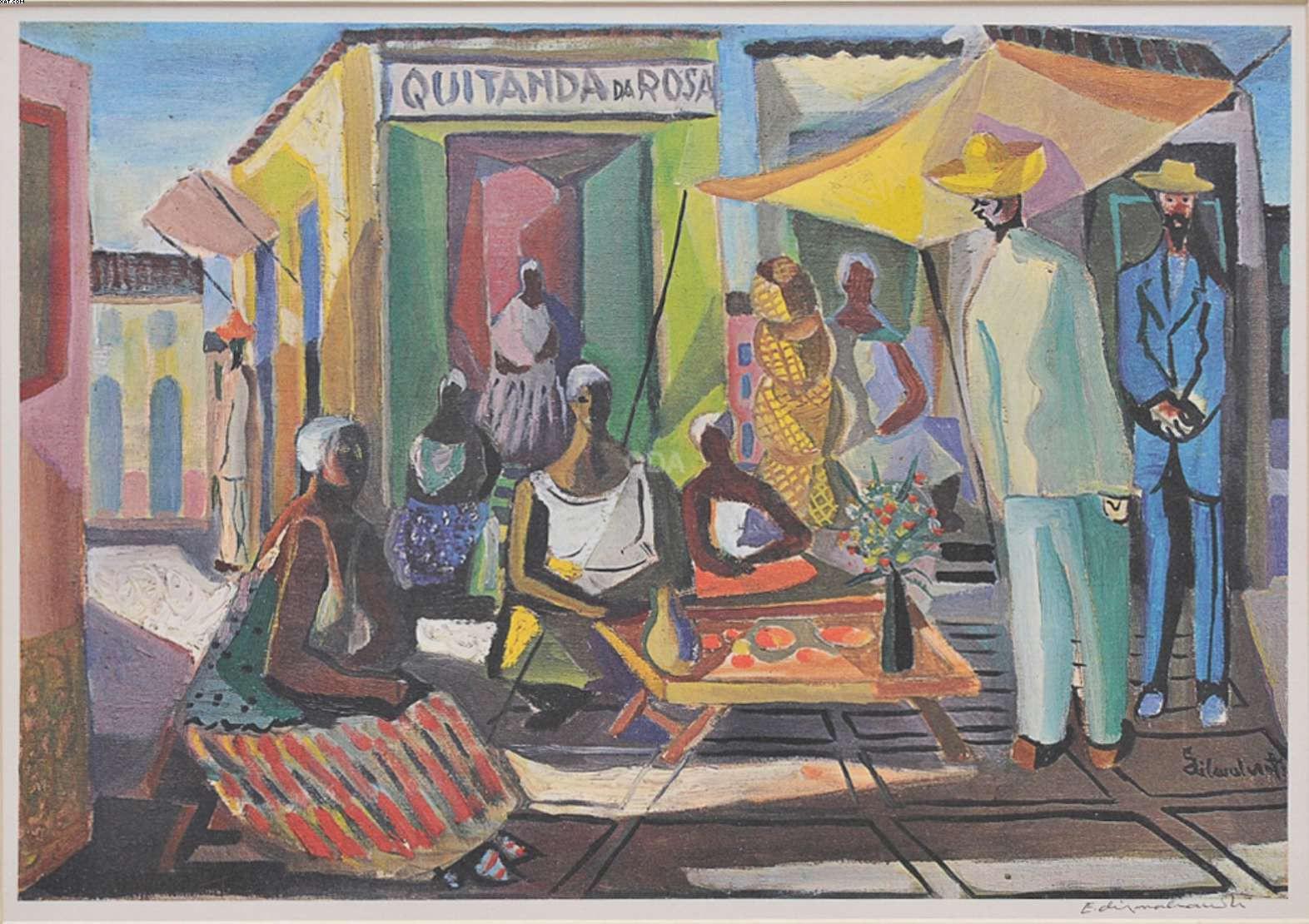 Quitanda da Rosa - Di Cavalcanti (1897-1976)