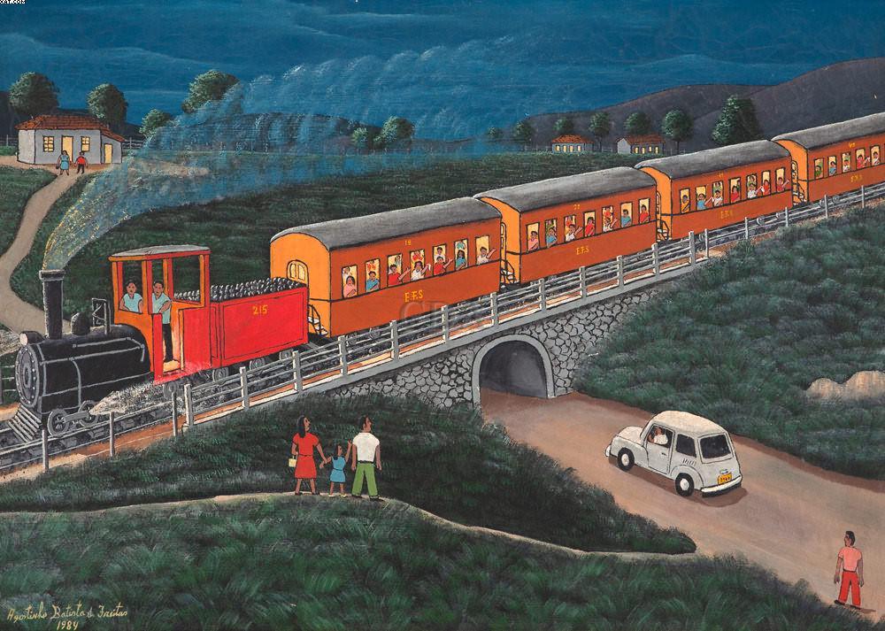 O Trem - Agostinho Batista de Freitas (1927-1997)