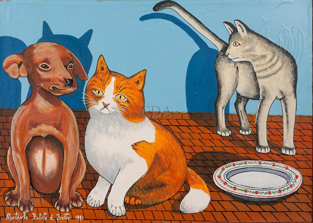 Animais - Agostinho Batista de Freitas (1927-1997)