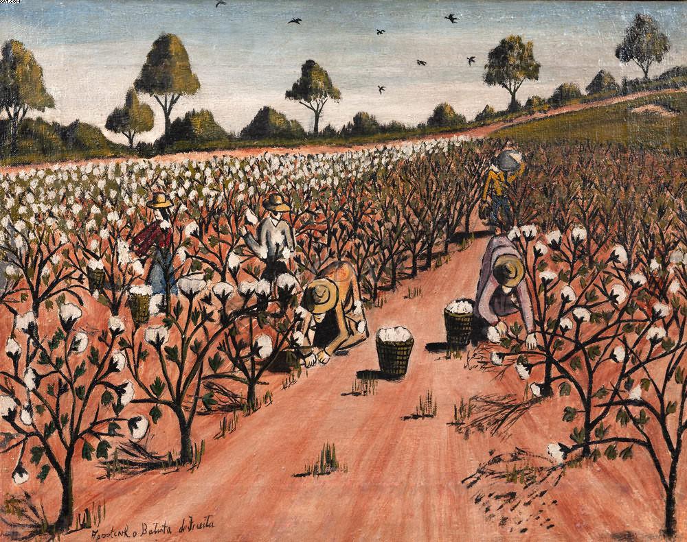 Colheita de Algodão - Agostinho Batista de Freitas (1927-1997)