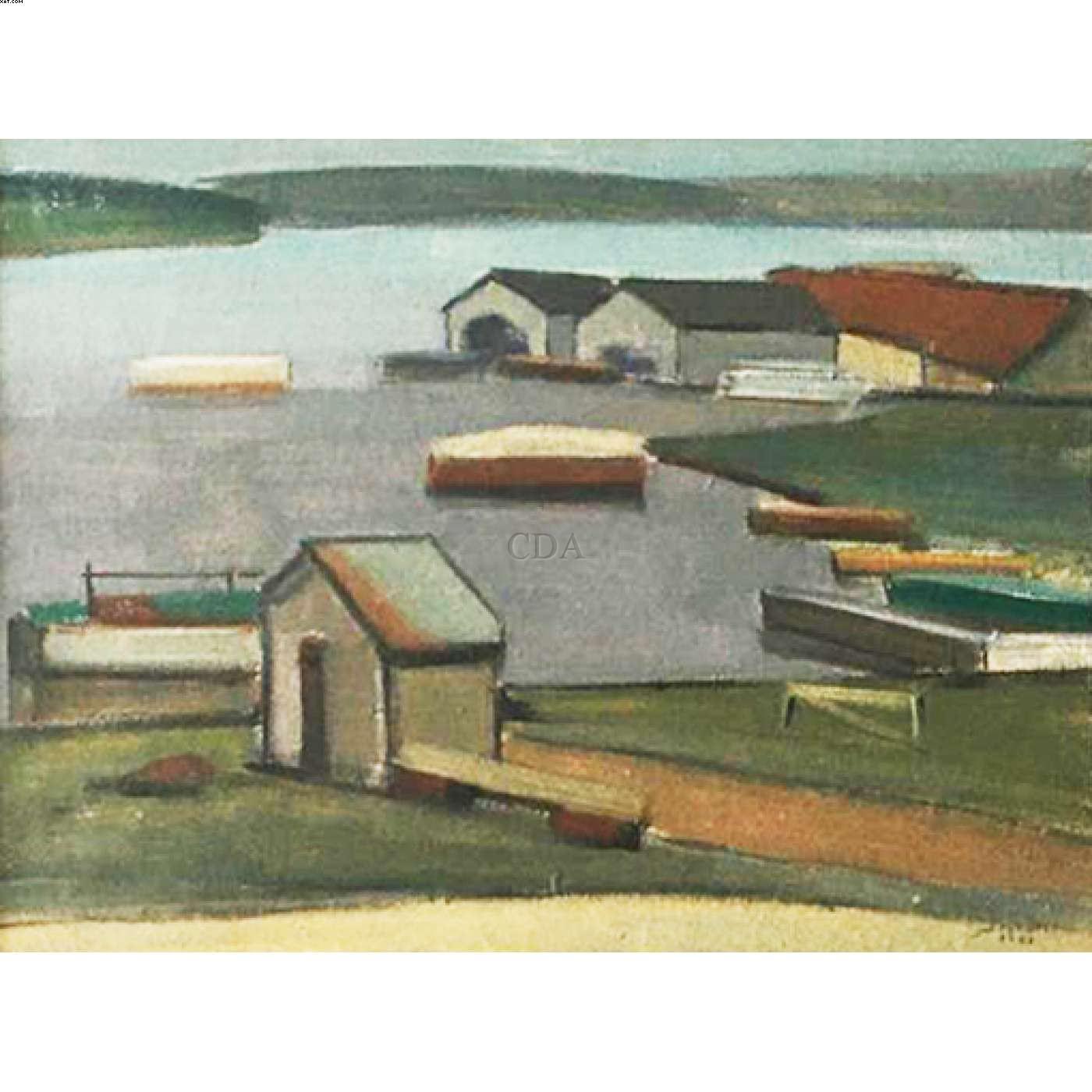 Barcos  - Arcângelo Ianelli - Arcangelo Ianelli