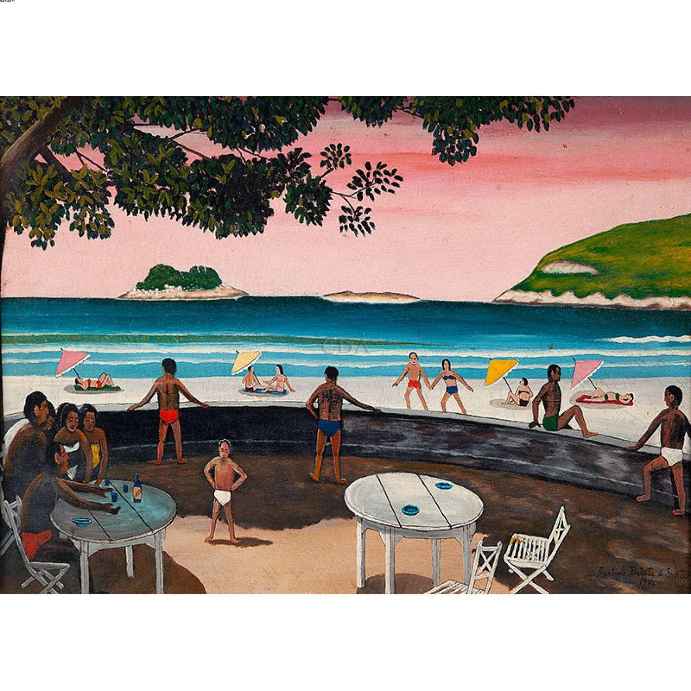 Praia de Pernambuco - Agostinho Batista de Freitas (1927-1997)