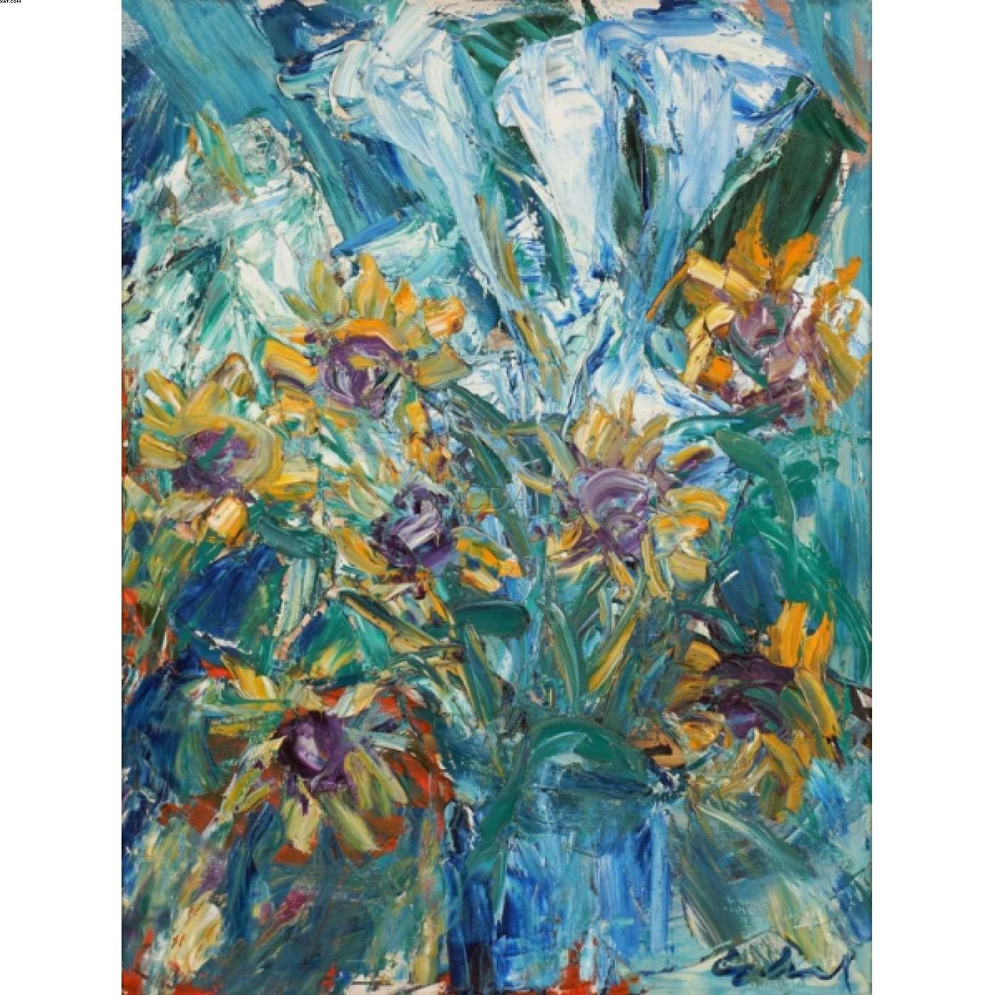 Vaso de flores - Antonio Helio Cabral - Antonio Cabral