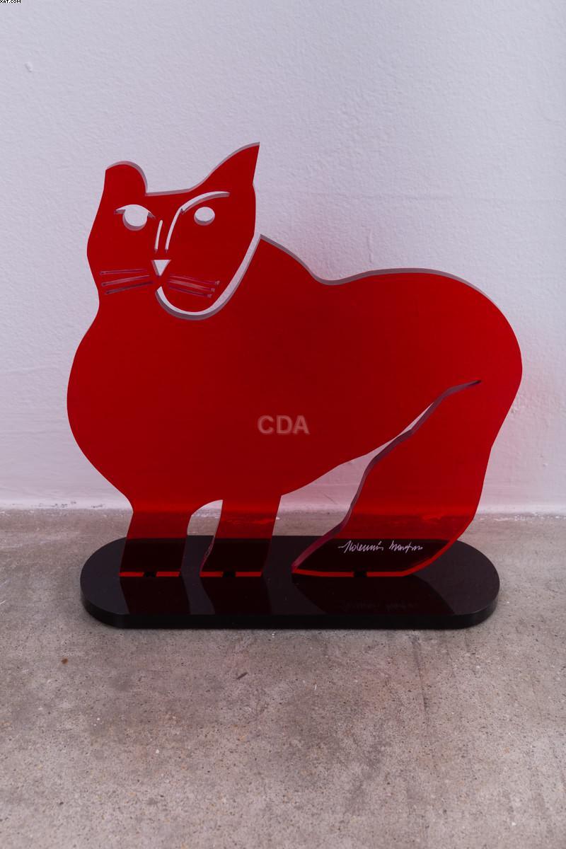 Gato vermelho - Aldemir Martins