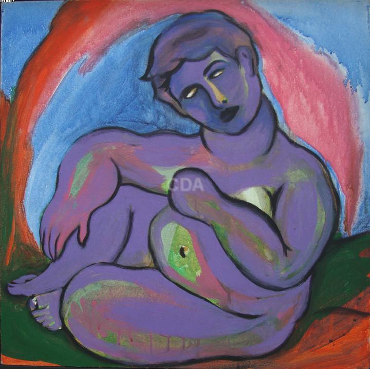 Figura sentada - Marepe (1970)