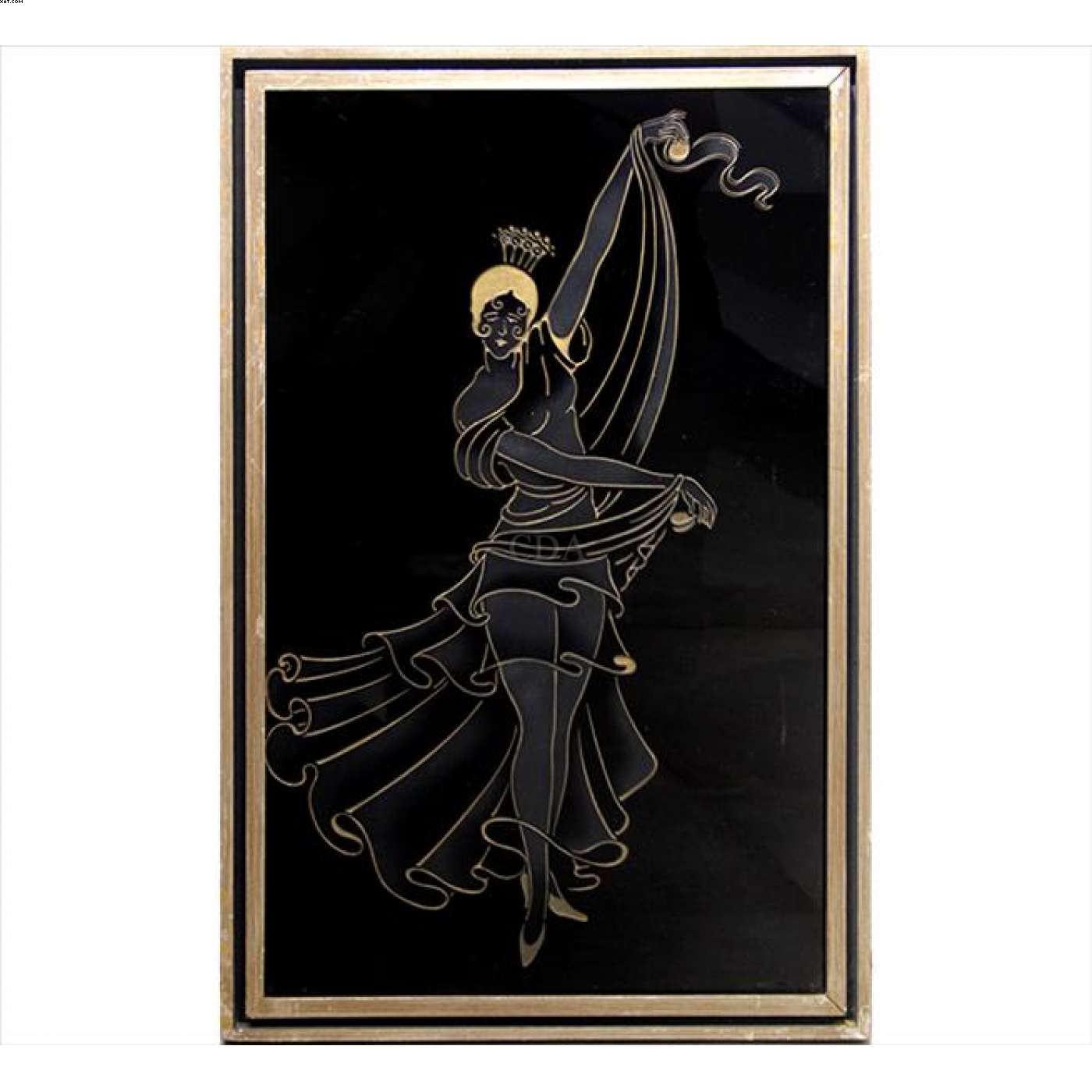 Figura de Dançarina - John Louis Graz - John Graz - John Grazz