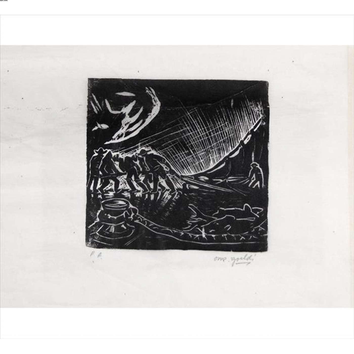 Pescadores - Oswaldo Goeldi